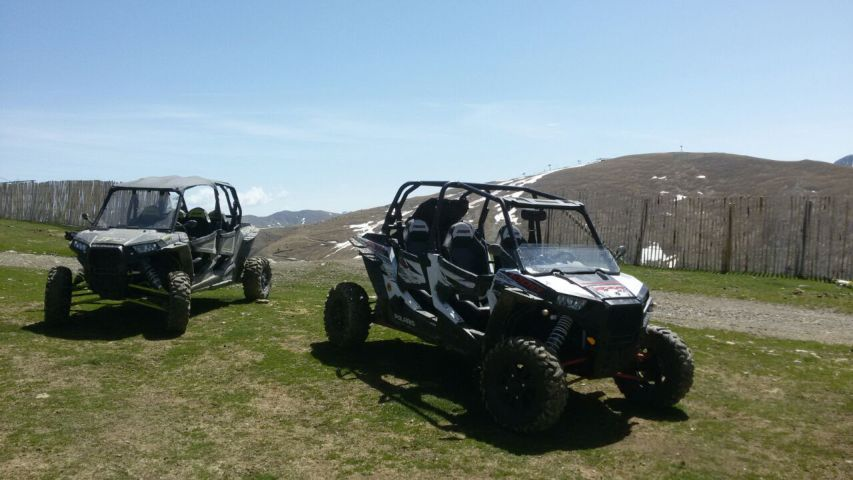 Location buggy famille Pyrenees Andorra Voyage