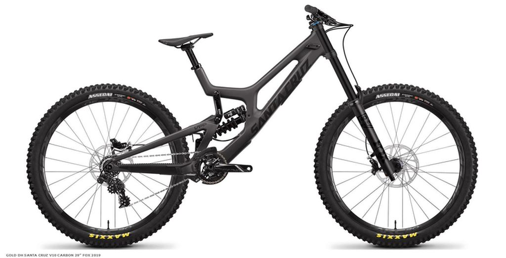Location vélo DH Santa Cruz V10 Carbon 2019