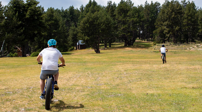 Excursion e-bike avec guide Naturlandia La Rabassa