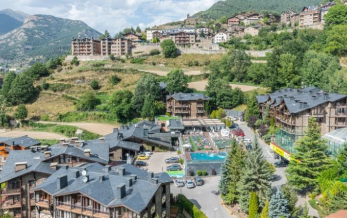 Hôtel Anyos Park Mountain Resort Andorre 4* Spa